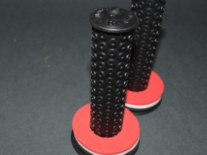 Old School bmx Nos DAY LUEN set grips black 120mm length 80s