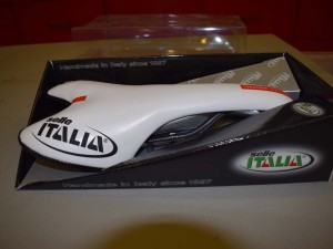NOS Selle Italia THOORK Team Edition Carbon Rail Saddle Seat White NIB