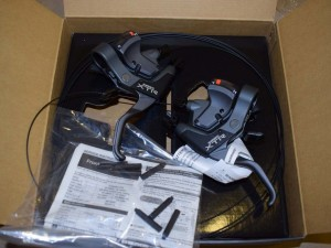 Shimano XTR ST M950 3x8 speed Shifter Brake lever Set combo NOS Nib