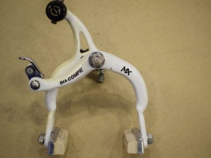 Nos Dia-Compe MX901 front brake caliper old school bmx stamped 1986/5583 White