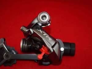 Shimano XTR RD M960 rear derailleur 9 speed long cage anthracite NOS