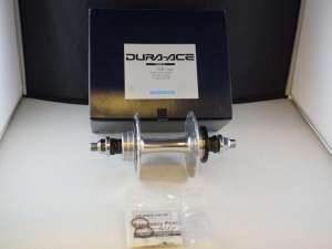 Shimano DURA ACE HB-7600 Pista Rear hub 28 hole high flange 120x164mm 10mm NIB