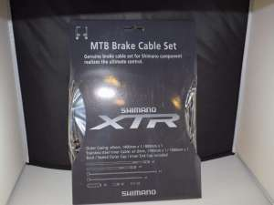 Shimano XTR brake cable Set Inner - Outer black V-Brake NOS NIB