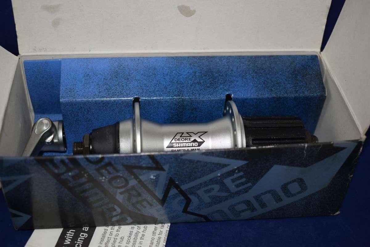Shimano Deore LX FH-M570 Rear hub 8/9 Speed 32 hole Rim Brake silver