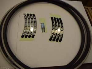 Shimano Dura Ace WH-7701 Rim Set 16 hole Clincher sides hole 700c Road Japan NIB