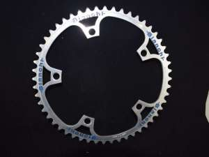 Bianchi Campagnolo pista track chainring sprocket chainwheel 1/8 52 t BCD 144mm