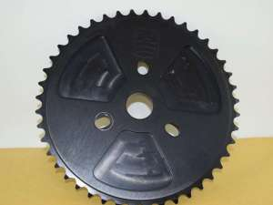 HARO Chainring Chainwheel  sprocket 44teeth black Made in USA NOS
